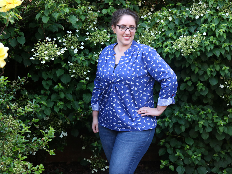 A McCall's Birdie Top