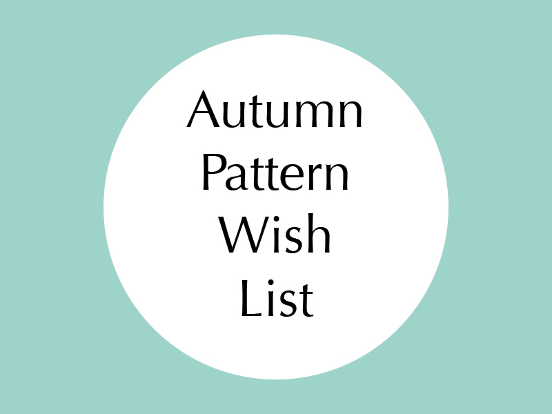 Autumn Pattern Wishlist