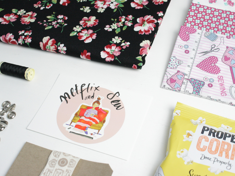January Box: Netflix & Sew