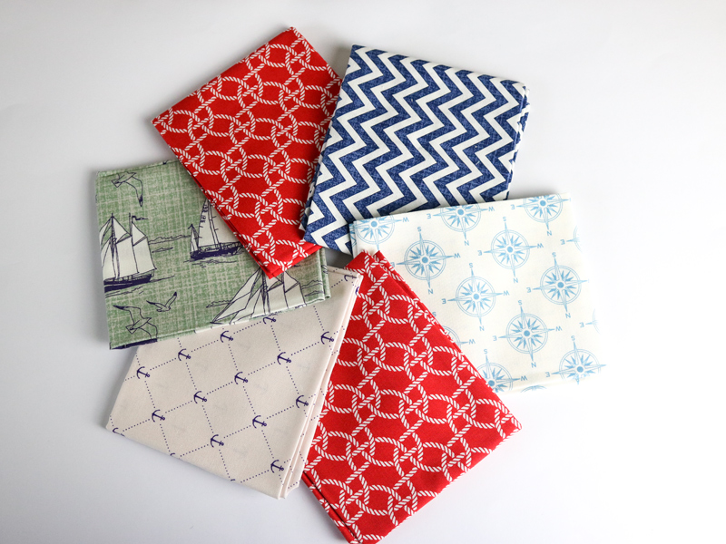Sail Away; Fat Quarter Inspiration