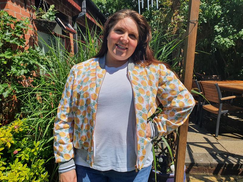 Laura's Amelia Bomber Jacket