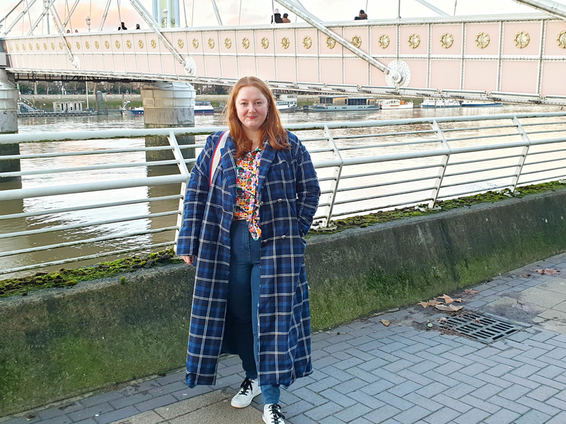 Gemma's Hunter Coat