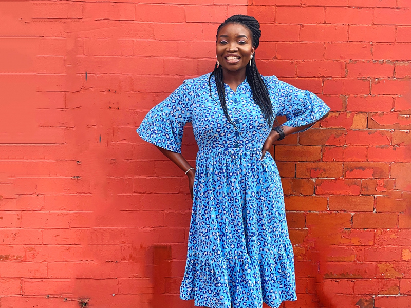 Esther's Myosotis Dress