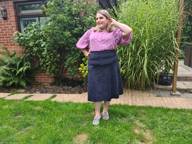 Laura's Anthea Blouse